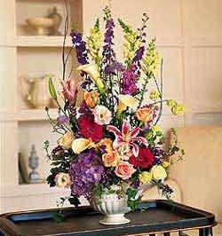 Welcome Vase arrangement