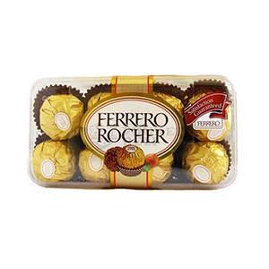 8 pcs ferrero rocher